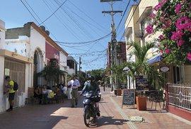 V uličkách Santa Marty, sympatického městečka na pobřeží Karibiku