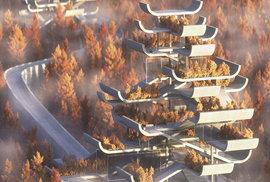 V Číně navrhli stavbu pagody, jakou svět ještě skutečně neviděl