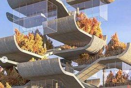 Velmi neobvyklý návrh na moderní pagodu, který zaskočil čínské odborníky.