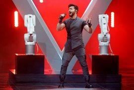 Finále Eurovize 2019: Chingiz z Ázerbájdžánu