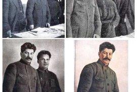 Na této fotografii postupně mizí znepohodlnělí kolegové. Až zůstane nakonec Stalin sám samec. Pleť má přitom po všech úpravách jako dětskou prdelku. Postupně odpadávají Nikolaj Antipov, Sergej Mironovič Kirov, Nikolaj Michajlovič Švernik a Nikolaj Komarov.