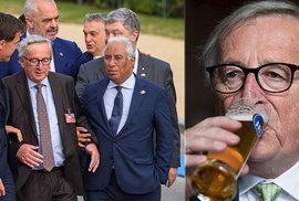 Předseda Evropské komise Jean-Claude Juncker vyvrací spekulace o tom, že je alkoholik.