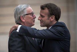 Volby mají určit nástupce Junckera v čele EU, situaci však komplikuje Macron. Projděte…