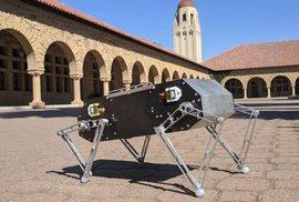 Čtyřnohý robot Doggo, vynález amerických studentů, je open source. Můžete si ho poměrně levně postavit