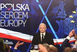 Výsledky eurovoleb: Kaczyńského strana Právo a spravedlnost drtivě vyhrála volby v Polsku