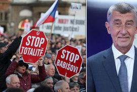 Premiér Andrej Babiš o protivládních protestech: Ti lidé jsou zfanatizovaní, jsou schopni i násilí