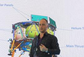 Diego Saikin se podílel na izraelské misi SpaceIL, během níž se robotická sonda Berešit pokusila přistát na Měsíci