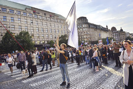 Proč se (ne)účastníte demonstrací spolku Milion chvilek pro demokracii?