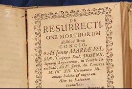 Spis o pitvě z rukou Jana Jesseniuse