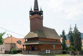 Dřevěný kostel svaté Paraskivy v Blansku