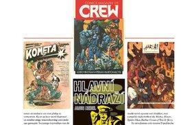 Ukázky z obsáhlého článku o českém komiksu v nizozemském časopisu Stripgids.