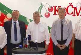 KSČM bude nadále podporovat vládu, odhlasovali delegáti na programové konferenci strany