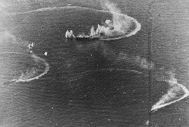 Největší bitva letadlových lodí v historii: Američané zničili výkvět japonského námořního letectva