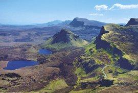 Quiraing patří právem knejfotografovanějším scenériím nejen ostrova Skye, ale celého Skotska