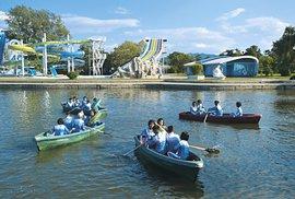 Wonsan, škola vpřírodě, kemp pro děti zprivilegovaných rodin