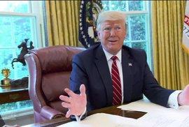 Donald Trump zuřil, když průzkumy ukazující jeho zaostávání za Joe Bidenem unikdy do médií (ilustrační snímek)