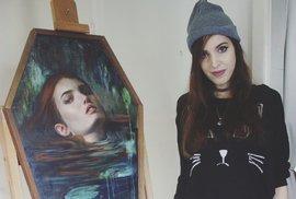 Australská malířka Jennifer Allnuttová.