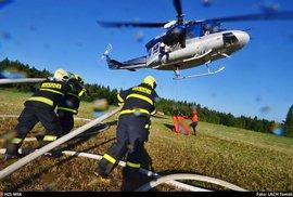 Extrémní sucho dál spaluje Česko. V červenci bylo hlášeno 77 požárů denně