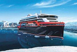 První hybridní výletní loď na světě, MS Roald Amundsen