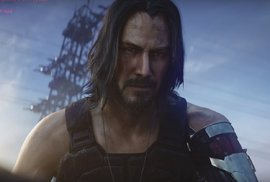 Keanu Reeves ve hře Cyberpunk 2077