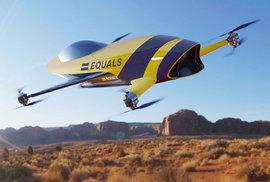 Závody létajících aut odstartují už za rok, stroje ve dvacetimetrové výšce poletí rychlostí 200 km/h