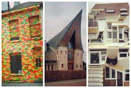 Nejošklivější a nejdivnější domy Belgie: Tahle instagramová kolekce vám vyčaruje úsměv…