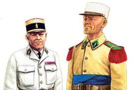 Českoslovenští dobrovolníci ve francouzské Cizinecké legii v roce 1939
