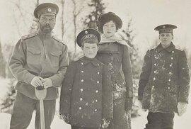 Unikátní soukromé fotografie posledního ruského cara Mikuláše II. a jeho rodiny,…