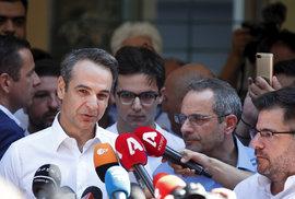 Novou demokracii vede jednapadesátiletý bývalý bankéř a člen známé řecké politické dynastie Kyriakos Mitsotakis