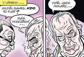 Zelený Raoul: Zeman, Babiš, demonstrace... Tak kdo to teda platí?