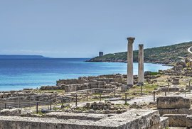 Tharros: Starobylé město ležící na západním břehu Sardinie založili již staří Féničané