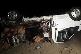 V Řecku zemřeli při bouři dva Češi, převrátil se s nimi karavan