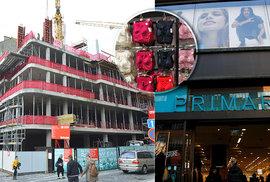 Výstavba Květinového domu, kde Primark bude sídlit, probíhá podle plánu a vše nasvědčuje tomu, že obchod opravdu otevře v květnu 2020