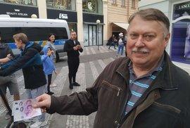 Pan Petr z východních Čech má Gotty rovnou dva (14. 7. 2019)