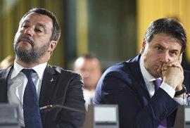 V Itálii očekávají rezignaci premiéra, vládní krizi vyvolal Salvini z protiimigrační…