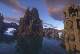 Devět let stavěli nadšenci v Minecraftu z kostiček věrnou kopii bájné Středozemě.
