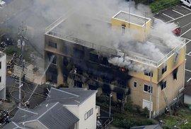 Nejméně 33 mrtvých při požáru studia animovaného filmu. Policie zatkla viníka, požár založil úmyslně