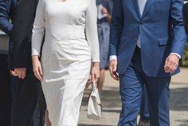 Slovenská prezidenta Čaputová na návštěvě Polska