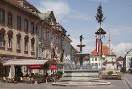 Rakouské městečko St. Veit an der Glan