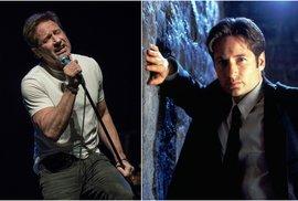 David Duchovny není jen agent Mulder ze seriálu Akta X. Víte, že je také autor úspěšných knih a sexuální závislák?