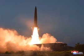 Raketový týden v KLDR pokračuje. Severní Korea odpálila další balistické střely