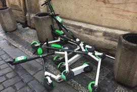 Elektrokoloběžky na chodníky nesmí, rozhodlo ministerstvo dopravy