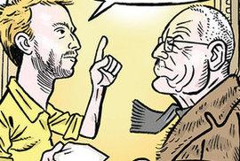 Zelený Raoul: Václav Klaus jako Jan Hus aneb Někdo to rád horké
