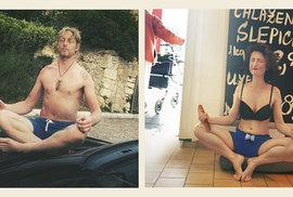 Karel Janeček radí: Když při meditaci v konzumu pevně zavřete oči, nevidíte nic. Ani…