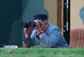 Severní Korea stupňuje tempo raketových testů, provedla už šestý za poslední tři týdny