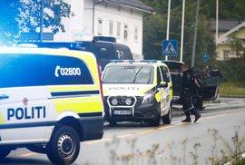 Nejméně jeden člověk utrpěl zranění při střelbě v mešitě poblíž norského hlavního města Oslo. (10.8.2019)