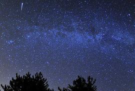 Dnes v noci nastane každoroční nebeská podívaná, vyvrcholí meteorický roj Perseid