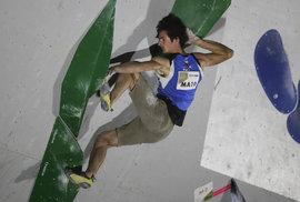 Český sportovní lezec Adam Ondra