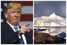 Zatoužil Trump po Grónsku? Jeho poradci mají promýšlet plán na odkoupení největšího ostrova světa