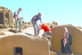 V Íránu jsou některé střechy přístupné a poskytují dech beroucí výhledy do okolí